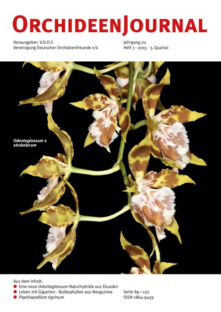OrchideenJournal Heft 3/2015